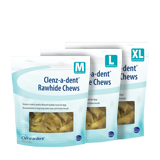 Clenz-a-dent® Rawhide Chews Image