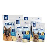 CLENZ-A-DENT® Breakables® Rawhide Dental Chews Image