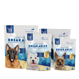 CLENZ-A-DENT® Breakables® Rawhide Dental Chews Image
